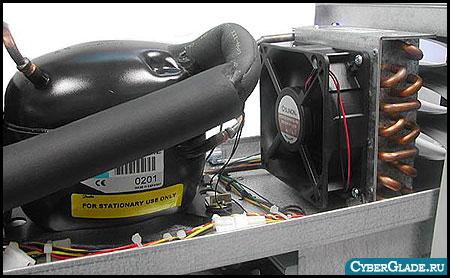 Охлаждение процессора фреоном